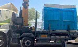 Israel donates third water generator to Gaza Strip