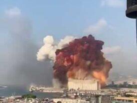 Massive explosions rock Beirut, killing dozens and injuring hundreds in Lebanese capital